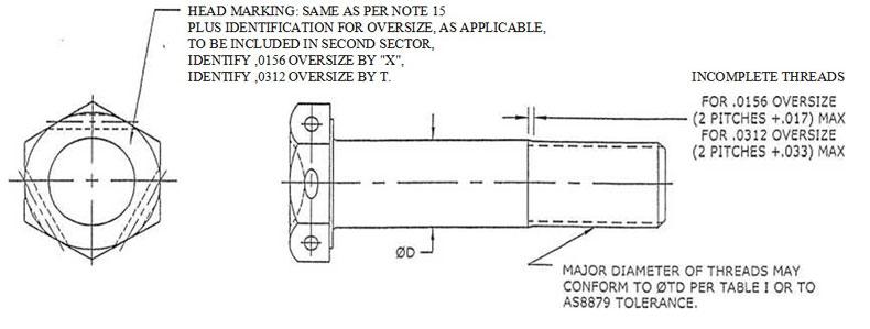 Nas Bolts Manufacturer Amp Distributor Nas6703 Nas6710