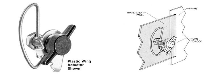 64L plastic wing actuator