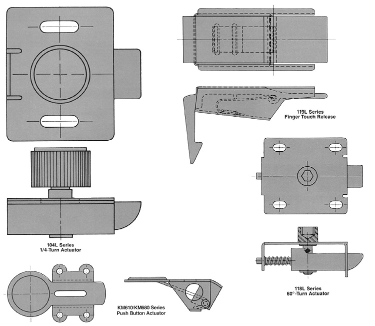 panel latch examples