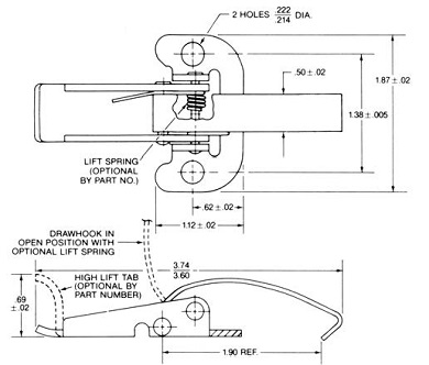 regular base latch