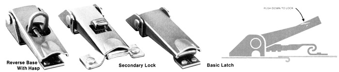 51L tension latches