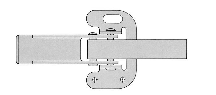 medium duty tension latches