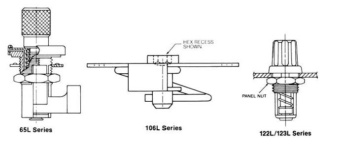 65L, 106L, 122/123L series latches