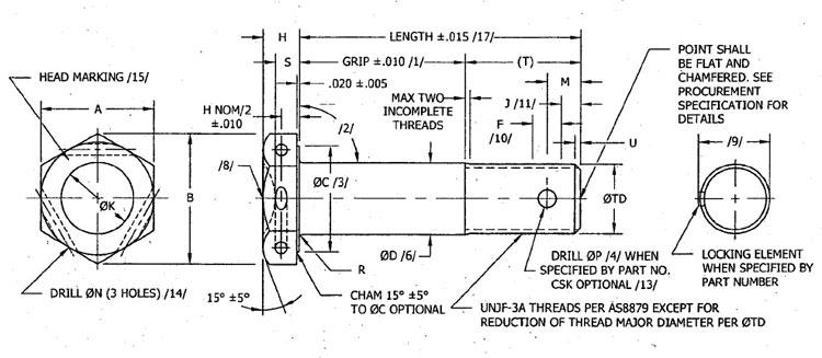 nas bolts manufacturer distributor nas6603 nas6610. Black Bedroom Furniture Sets. Home Design Ideas